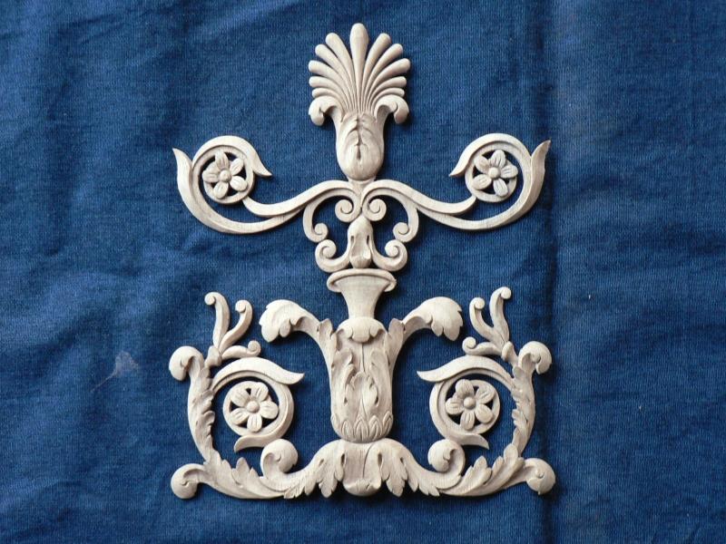 Decoration panneau pilastre