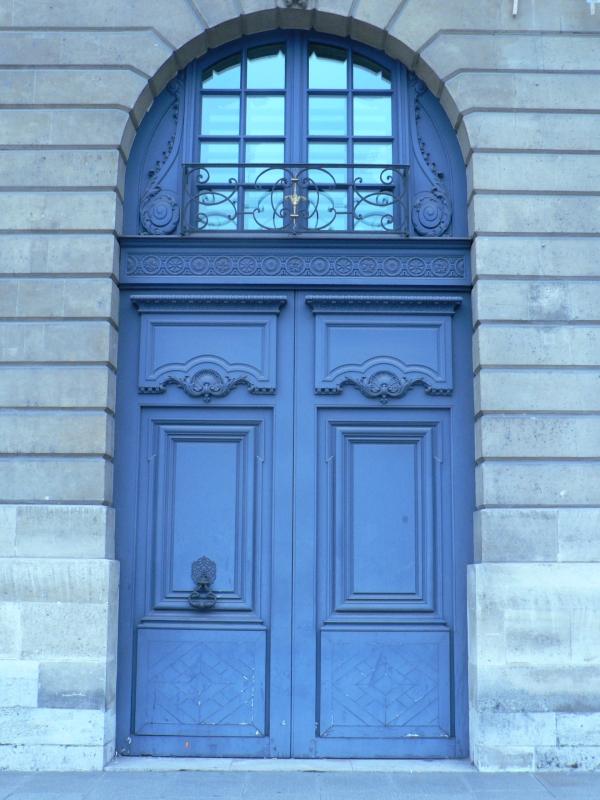 Porte cochère Place Vendôme ( Paris 1 Arr )