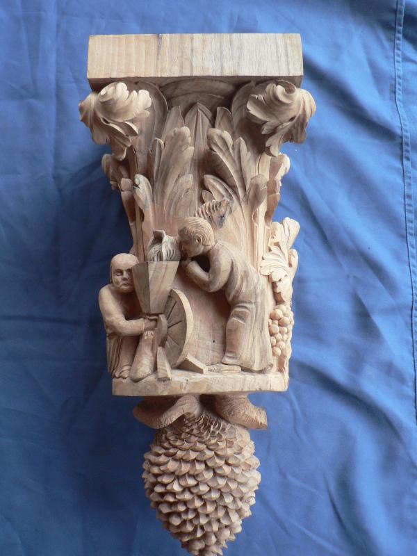 culot charpente ( création )